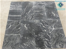 Black Tiger Veins Marble from Vietnam