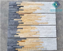 Mixed Wall Panel Stone Low Cost
