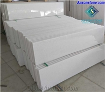 Polished Pure White Marble Stair Steps and Risers