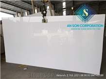 Pure White Marble Slabs from Vietnam