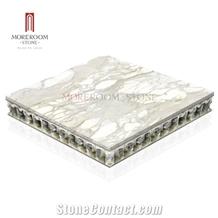 Natural Marble Laminated Aluminum Honeycomb