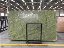 China Dandong Green Slab Wall Flooring Tiles Pattern