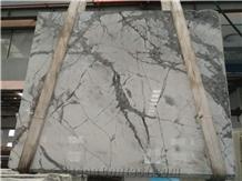 Eksioglu Calacatta Iceberg White Marble Slabs