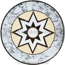 Rectangular Stone Waterjet Medallion