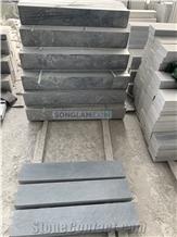 Bluestone Scrapped Kerbs