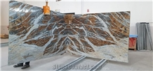 Blue Jeans Marble Slabs