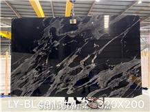Black Marquinho Granite for Table Tops