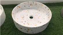 Customized Terrazzo Stone Sinks