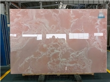 Pink Onyx for Floor Application