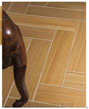 Dune Honed Wooden Brown Sandstone Floor Tiles