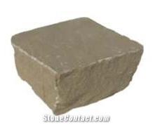 Raj Green Split Sandstone Cobblestone