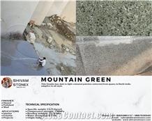 Mountain Green Granite Slabs