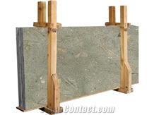 Rustic Green Limestone Slabs, Tiles