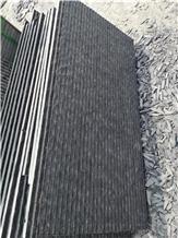 Mongolia Black Slabs, Wall Stone