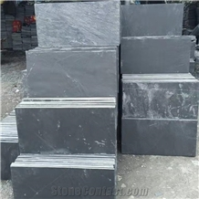 Black Slate Tiles & Slab