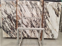 High Polished Calacatta Violet Marble Slabs