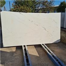 Kalliston White Polsihed Marble Slabs