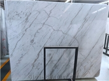 Polished Guangxi White Marble Slabs