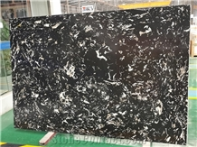 Silver Black Dragon Artificial Marble Stone Slabs