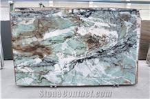 Cristallo Tiffany Quartzite Slabs, First Choice Italian Production