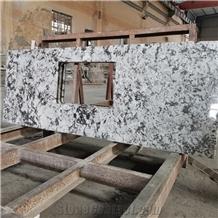 Cartus White Granite Kitchen Counter Tops