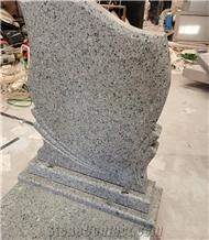 China Blue Sapphire Granite Single Monument Design