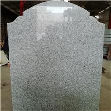 China Factory Grey Granite Headstone Irish Pattern