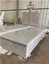 China G664 Granite Memorials Headstone Monument