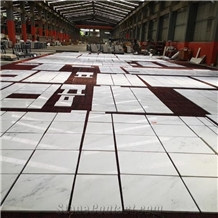 China Oriental White Marble Flooring Tiles