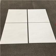 Honed Surface New White Marble Flooring Tiles