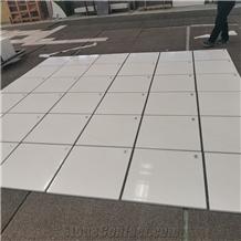 Polished New Ariston White Marble Flooring Tiles