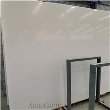 Polished Pure Crystal White Marble Slabs