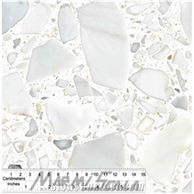 Calacatta Resin Marble- Agglomerated Marble