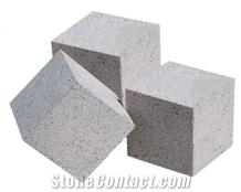 Grey Andesite Cube Stone, Cobble Stone