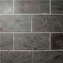 Honed- Polished Grey Andesite Wall Tiles