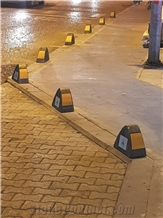Mono Anchorage Barrier Type 1 Parking Stone,Bollard
