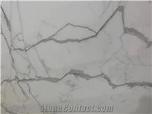 Italian Statuario Super White Marble Slabs & Tiles