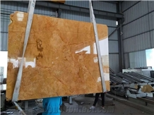 China Gold Imperial Royal Yellow Marble Slabs