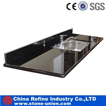 Black Granite Kitchen Counter Top & Work Tops