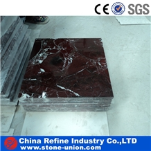 Cheap Chinese Rosso Alicant Marble Slabs and Tiles