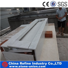 Chinese Eastern White Marble Kitchen Counter Tops