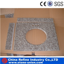 Customized Granite Countertop Bathroom Vanity Tops