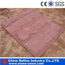 Exterior Landscaping Red Sandstone Mushroome Tiles