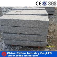 G602 Light Crystal Grey Granite Stone Kerbstones