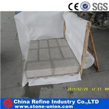 G682 Cheap Granite Yellow Rusty Kerb Stone