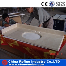 G682 Granite Counter Top,High Quality Vanity Top