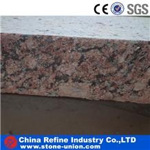 Indian Red Granite Floor Covering, Granite Tiles