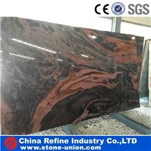 Indian Twilight Juparana Red Granite Tiles & Slab