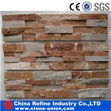 P014 Yellow Rusty Slate Veneers,Cultured Stone