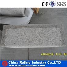 Pineapple Beige Rusty Granite Kerb Stone Curbstone